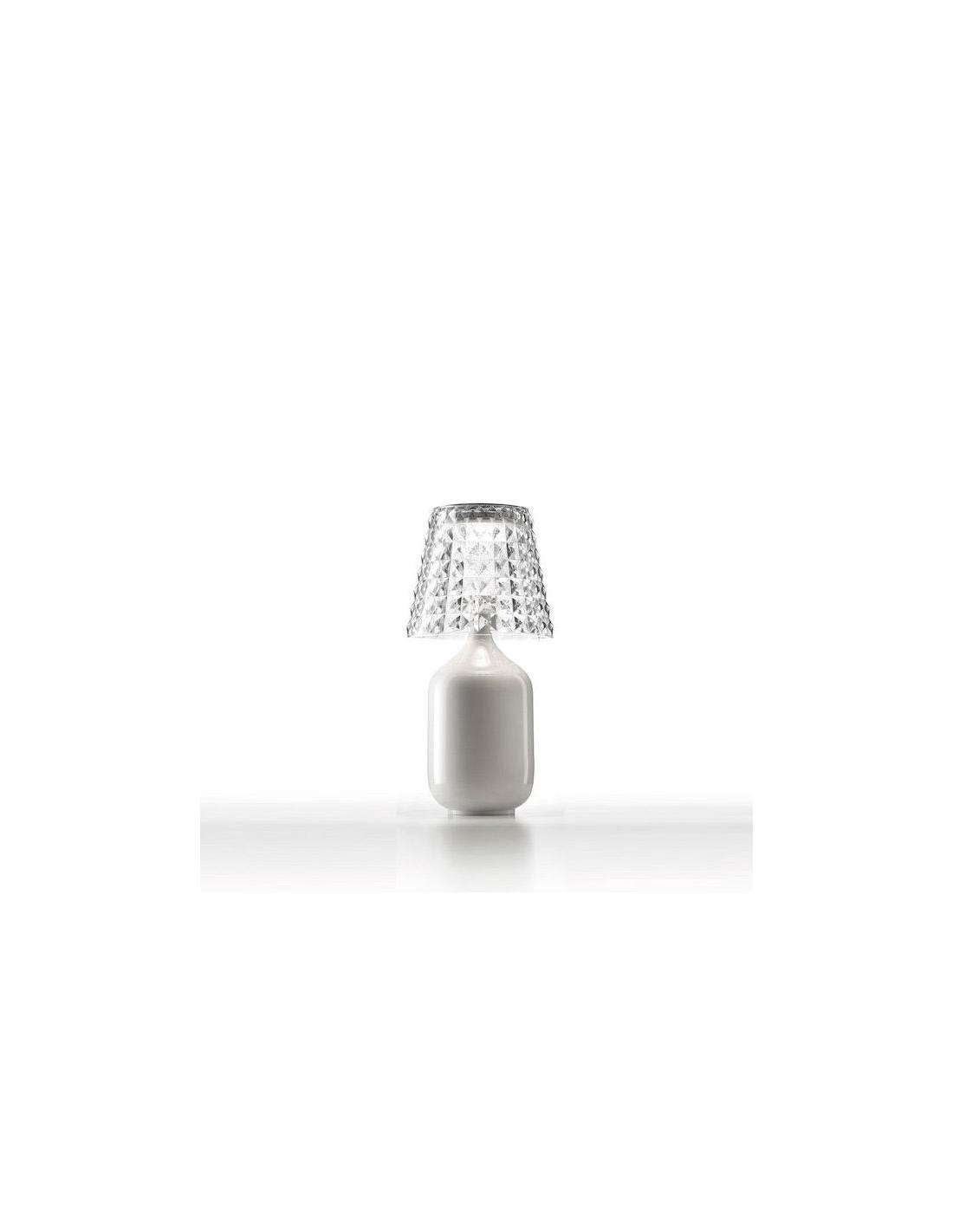 lampe poser valentina mod le blanc de studio italia design. Black Bedroom Furniture Sets. Home Design Ideas