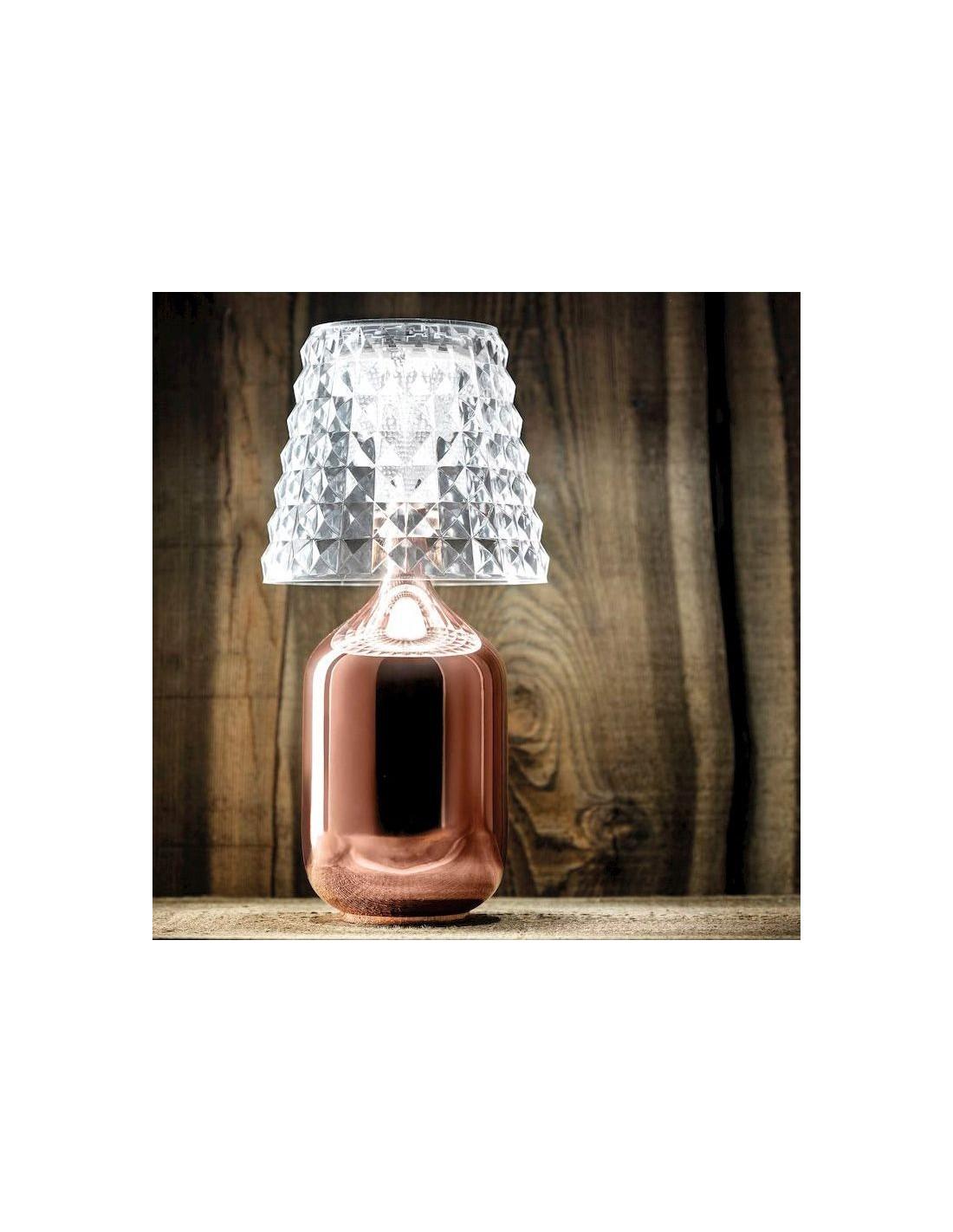 lampe poser valentina cuivr e vue d 39 ensemble de studio italia design. Black Bedroom Furniture Sets. Home Design Ideas