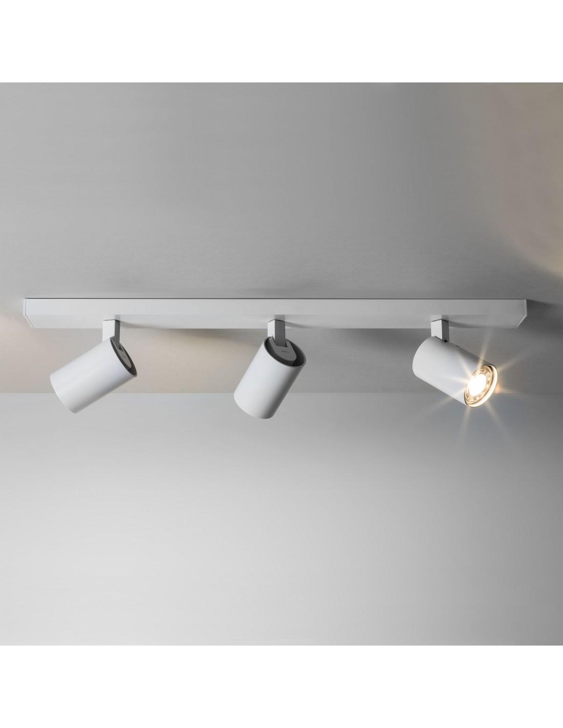 Plafonnier Ascoli triple Bar blanc Astro lighting