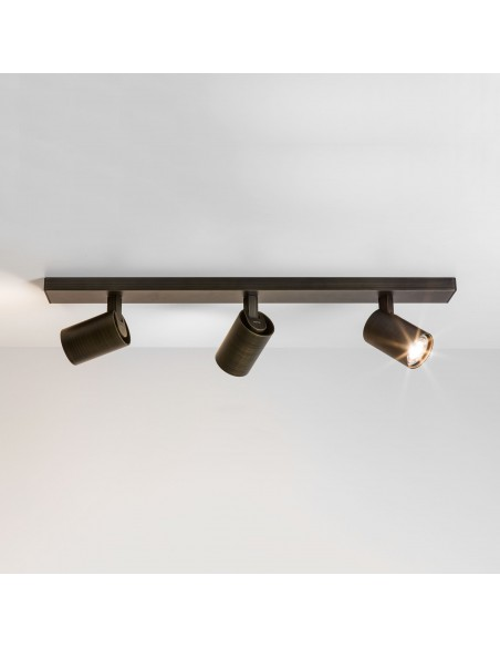 Plafonnier Ascoli triple Bar bronze Astro lighting