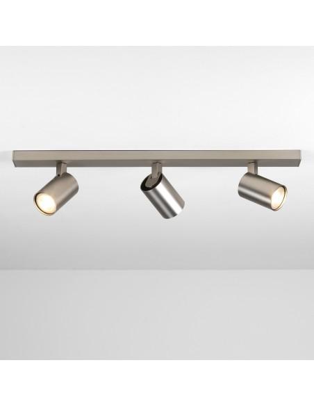 Plafonnier Ascoli triple Bar nickel mat Astro lighting