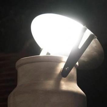 Disque réflecteur pour lampe de sol Via Lattea