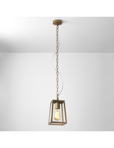 Suspension Calvi pendant 215  laiton antique astro  lighting