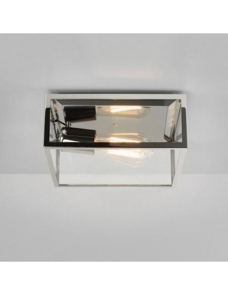 Plafonnier Bronte nickel poli astro lighting vue d\'ensemble