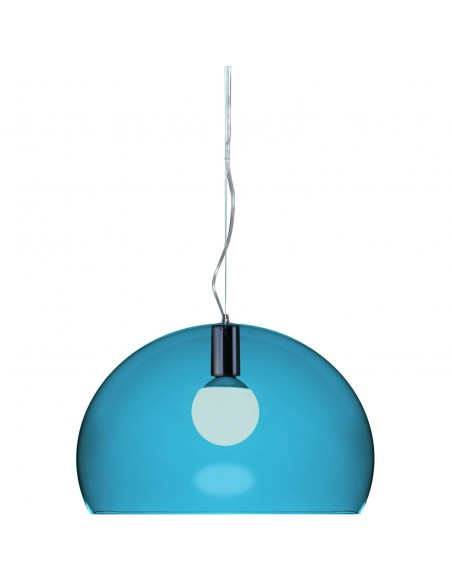 suspension Fl/y bleu pétrole kartell - Valente Design