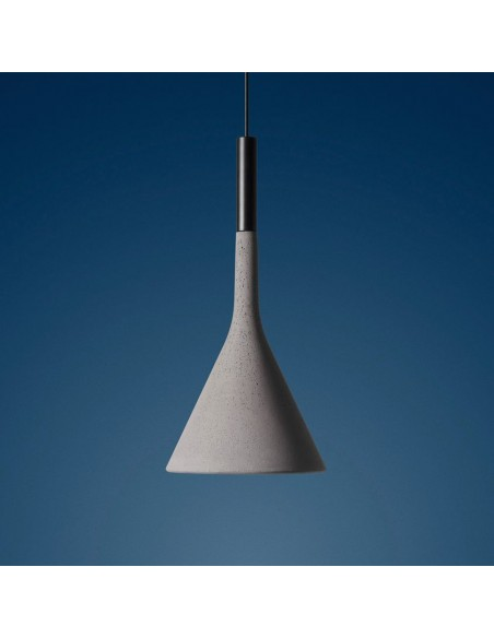 Suspension Aplomp outdoor gris clair FOSCARINI