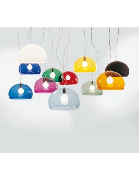Ensemble des couleurs pour la suspension FL/Y kartell - Valente Design