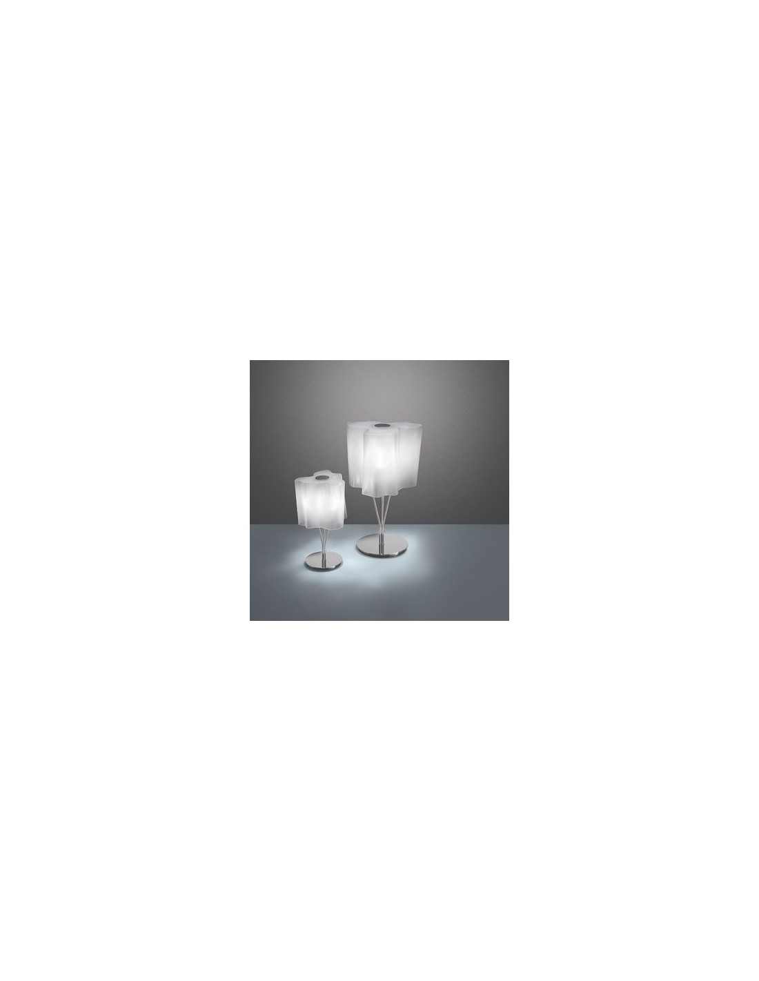 lampe de table logico blanc Artemide - Valente Design
