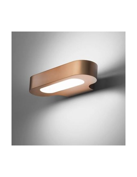 Applique Talo LED cuivre satiné Artemide - Valente Design