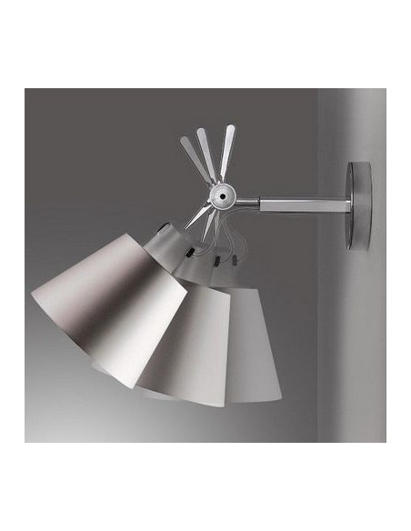 Applique Tolomeo Parete Diffuseur 18  inclinaisons Artemide - Valente Design