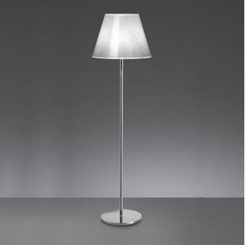 Lampadaire Choose Terra halogène chrome