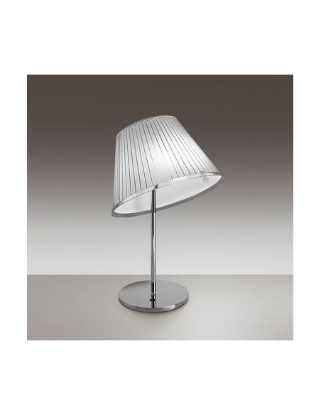 Lampe de table Choose Halogène chrome blanc vue d\'ensemble Artemide