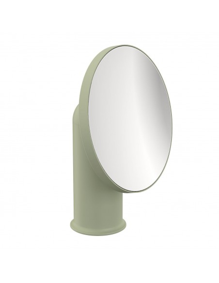 Miroir GEYSER version vert sauge pour la marque COSMIC - Valente Design