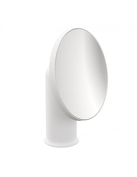 Miroir GEYSER version blanc pour la marque COSMIC - Valente Design