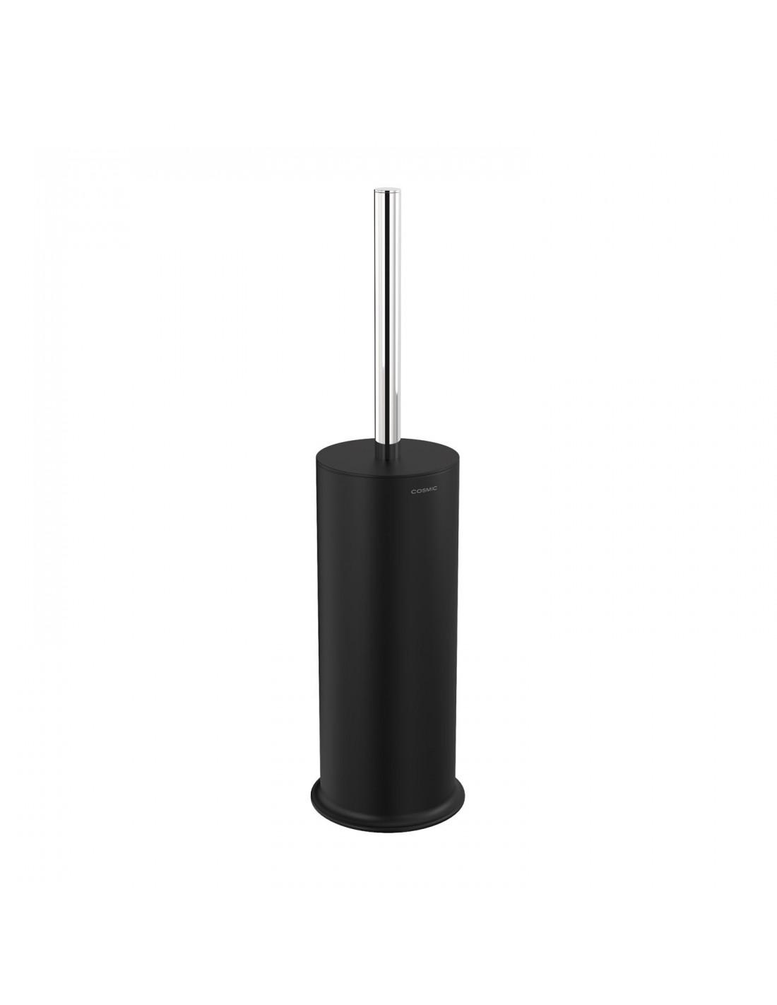 Porte rouleaux noir/chrome sans couvercle GEYSER  pour COSMIC
