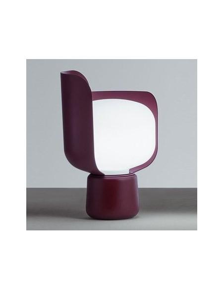 Lampe de table design Fontana Arte violet