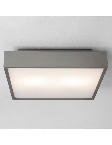 Plafonnier Taketa square LED nickel astro lighting - Valente Design
