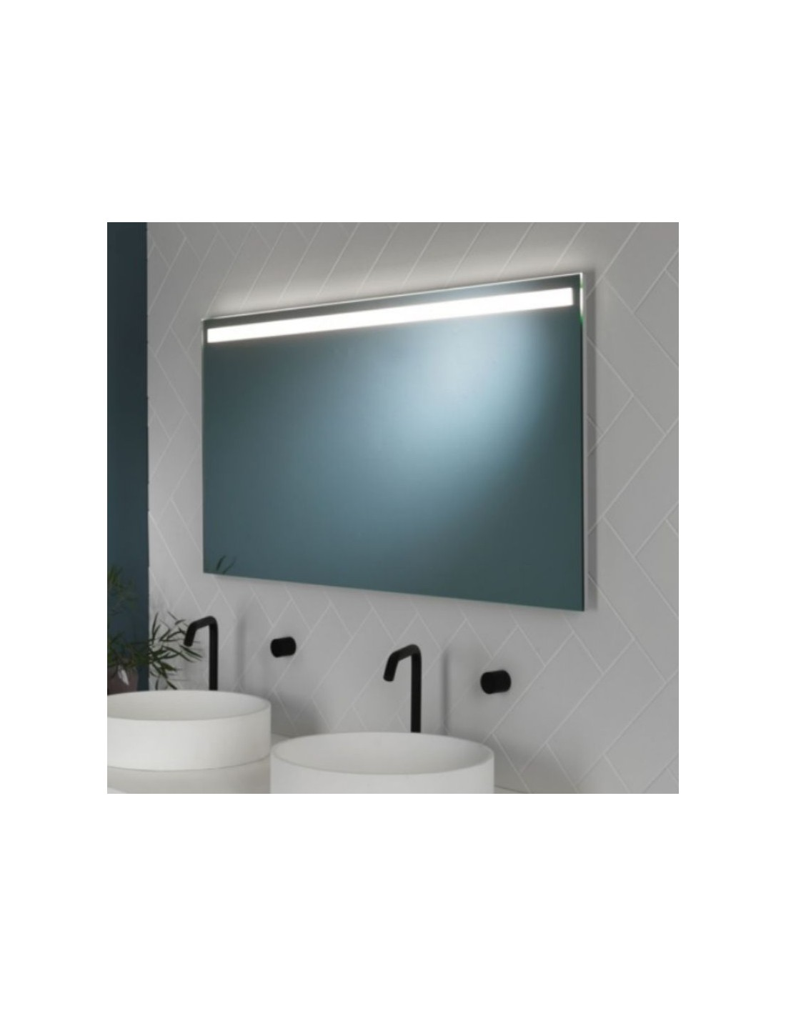 Miroir Avlon 1200 astro lighting vue d\'ensemble - Valente Design