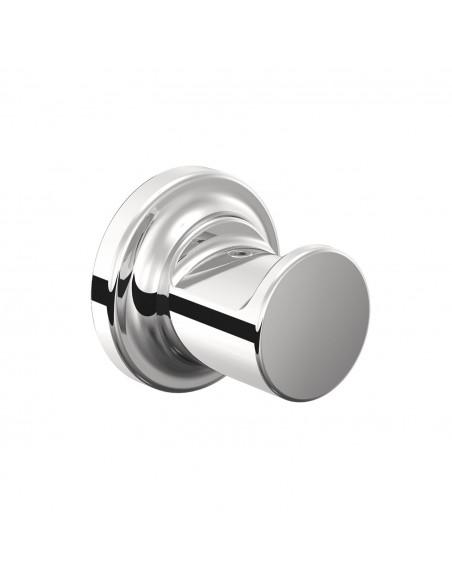 vue d'ensemble patère chrome sans couvercle GEYSER pour COSMIC - Valente Design