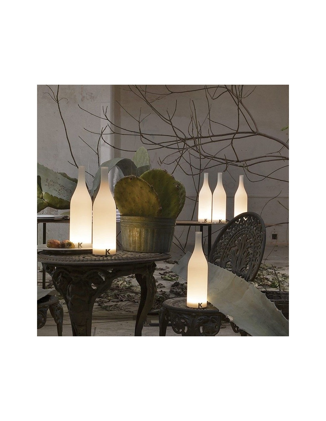 lampe poser sans fil bacco ambiance show room de chez karman. Black Bedroom Furniture Sets. Home Design Ideas
