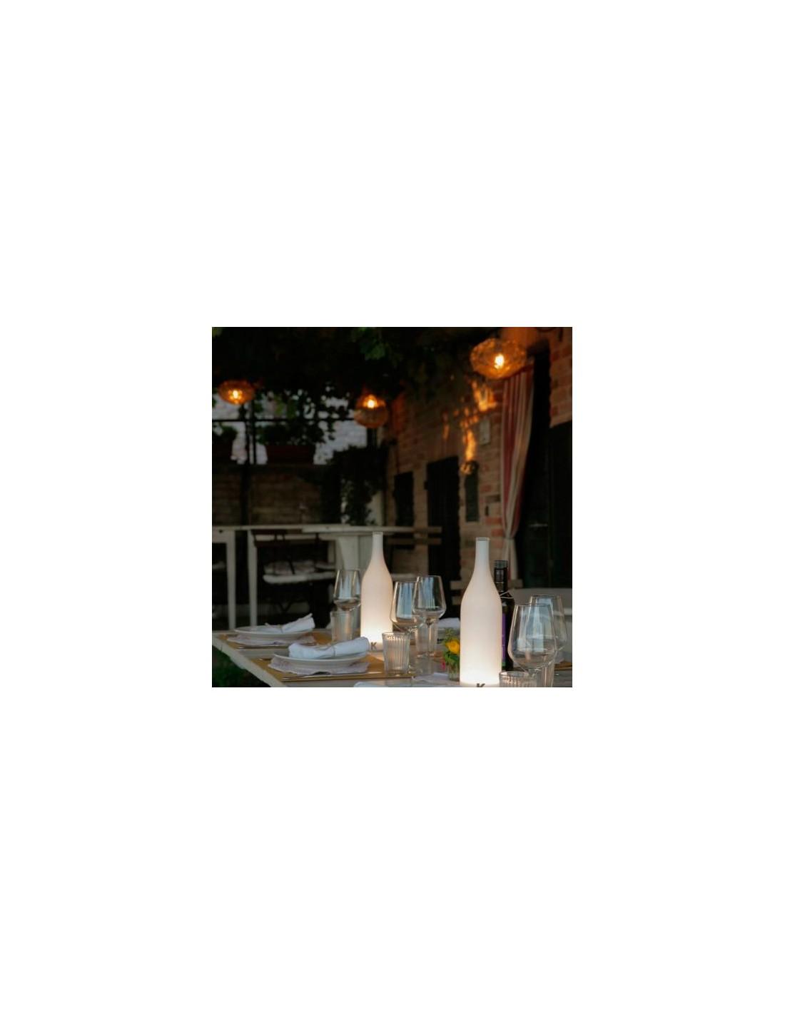 lampe poser sans fil bacco ambiance table restaurant de. Black Bedroom Furniture Sets. Home Design Ideas