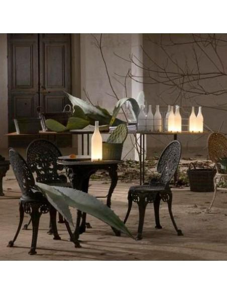 show room vue Lampe à poser sans fil Bacco de chez Karman - Valente Design