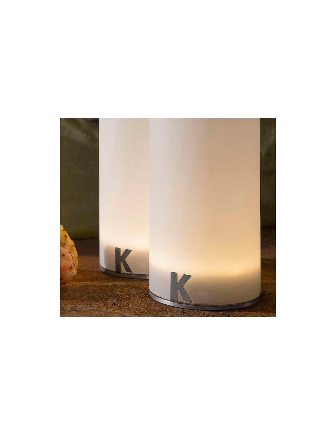lampe poser sans fil bacco d tails de chez karman. Black Bedroom Furniture Sets. Home Design Ideas