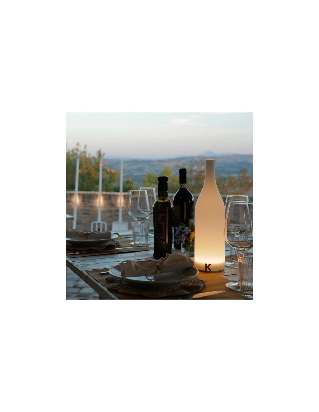 lampe poser sans fil bacco ambiance terrasse de chez karman. Black Bedroom Furniture Sets. Home Design Ideas