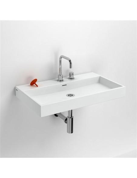 Vasque 70 cm Wash Me en céramique blanc pour la marque Clou