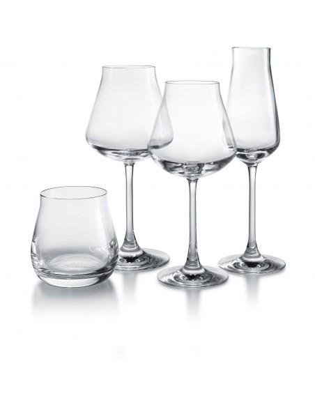Coffret dégustation : flûte, gobelet et 2 verres à vin Baccarat