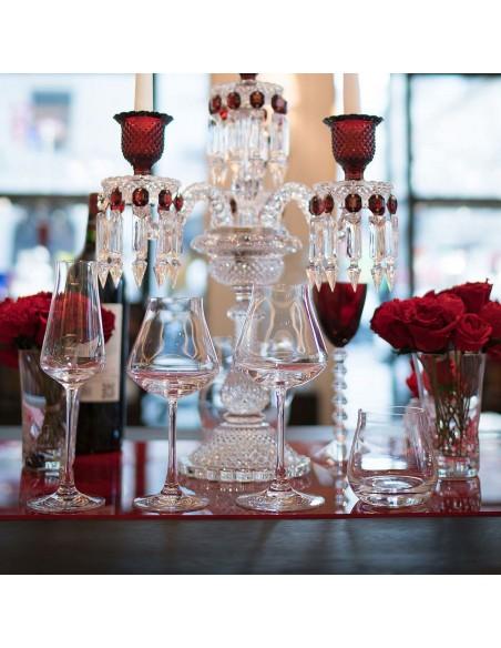 Coffret dégustation Château Baccarat table de fête