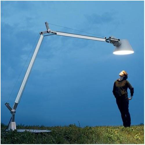 Lampadaire Tolomeo XXL Outdoor LED avec base