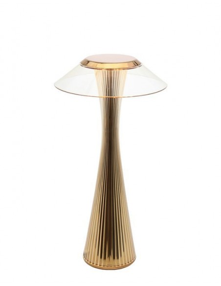 Lampe sans fil Space de kartell or - Valente Design