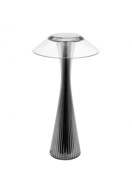 Lampe sans fil Space de kartell titane - Valente Design