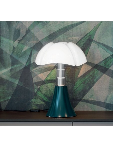 Pipistrello Medium LED vert agave - Martinelli Luce Valente Design Gae Aulenti