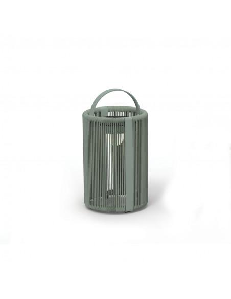 Découvrez les lampes solaires de la marque Royal Botania, collection Ropy de couleur vert olive - Valente Design