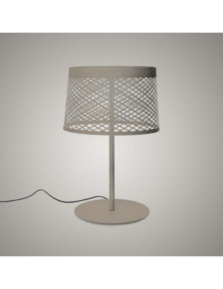 Lampe de table Twiggy Grid XL - outdoor greige - Valente Design