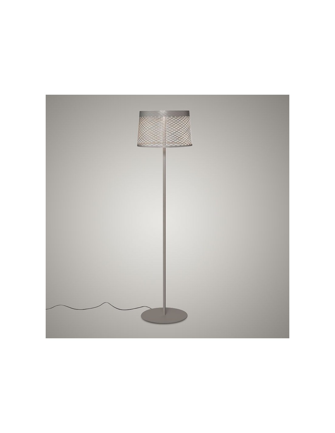 Lampadaire Twiggy Grid Lettura greige - Valente Design