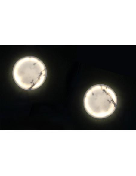 La marque Royal Botania propose comme luminaire d'extérieur l'applique Lunar à retrouver chez Valente Design