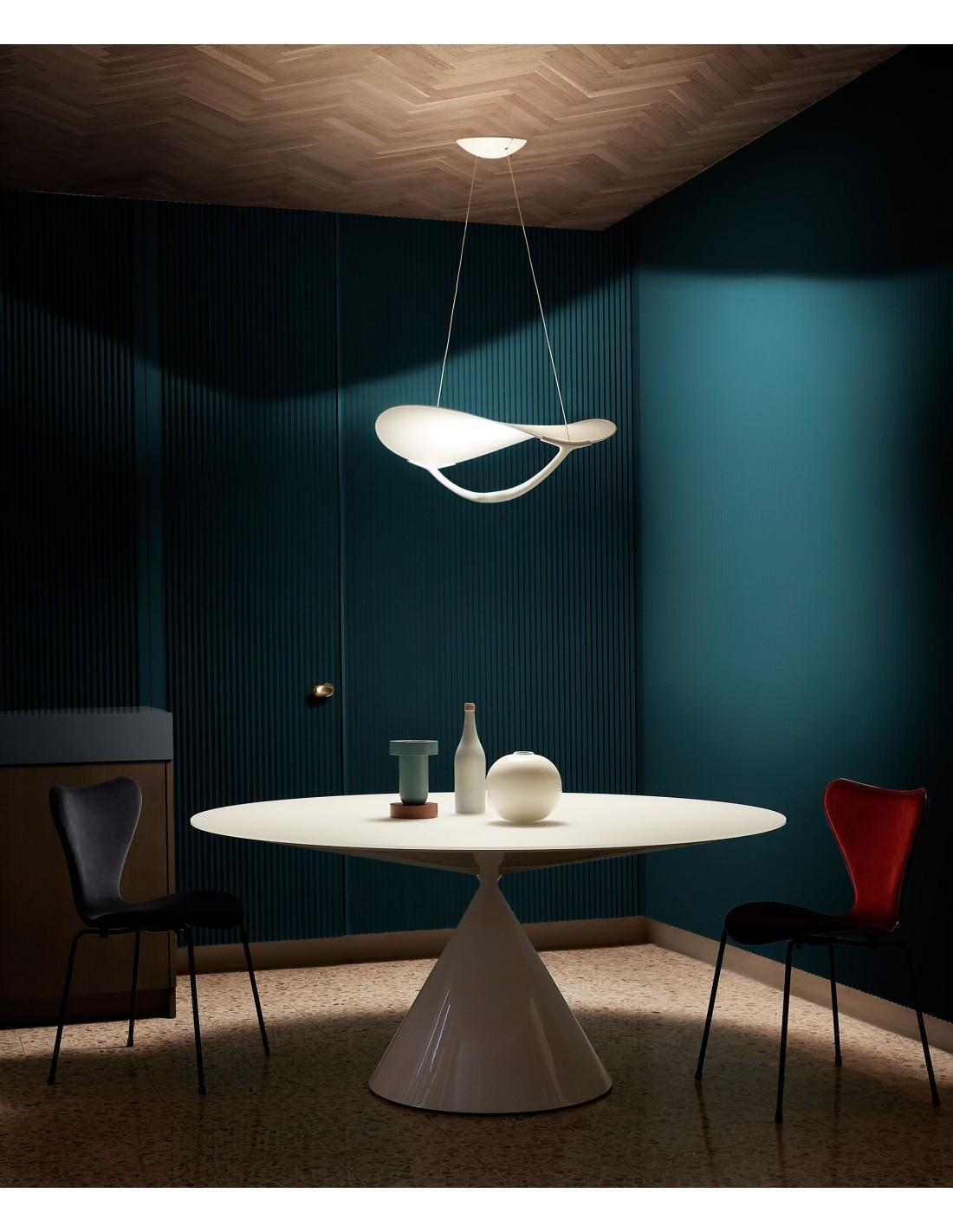 Suspension Plena mise en scéne éclairée - Foscarini - Valente Design