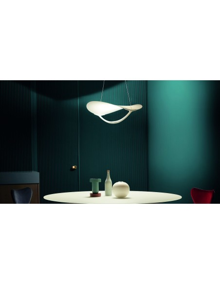 Suspension Plena au dessus d\'une table - Foscarini - Valente Design