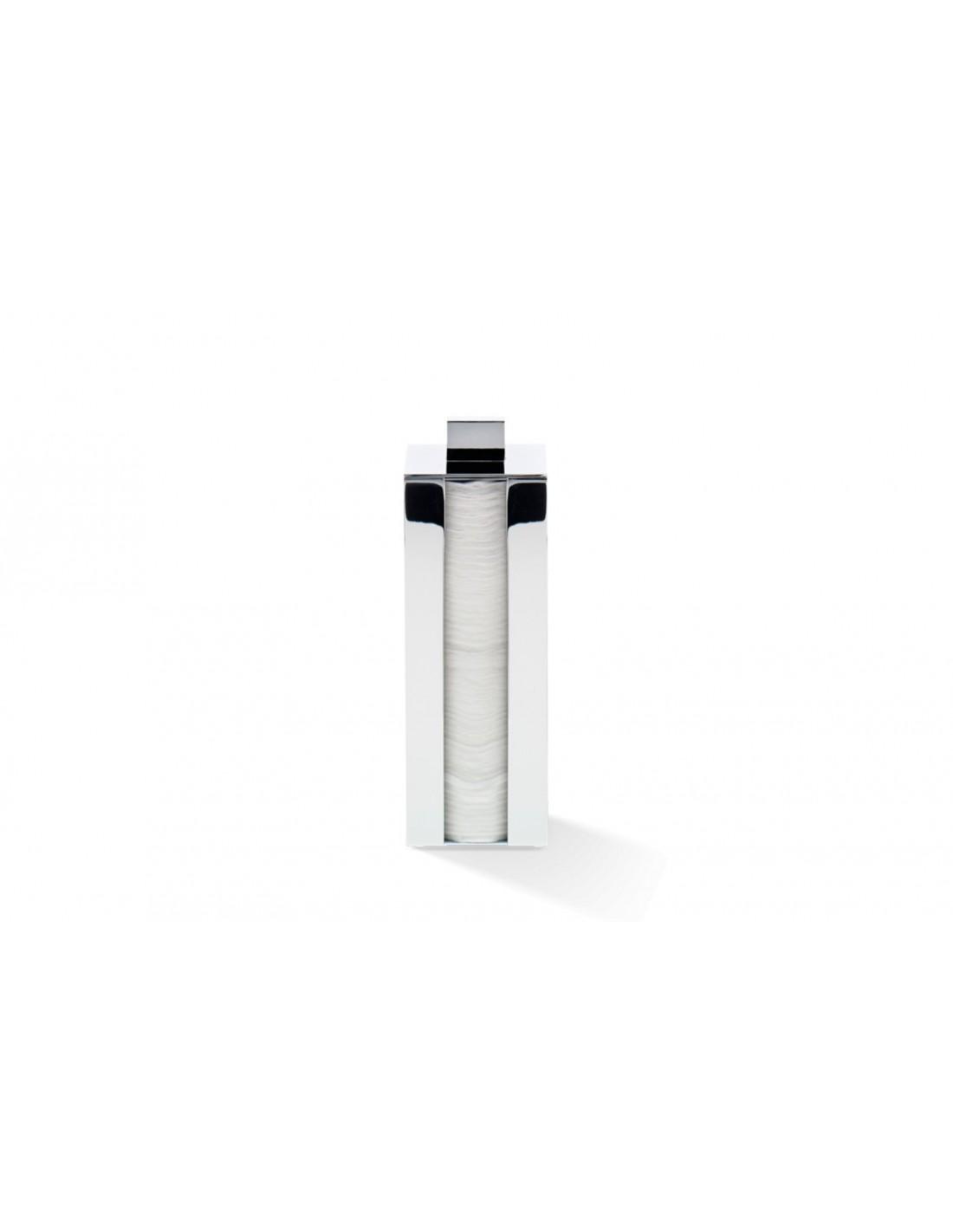 Boîte à cotons DW 3680 chromé Decor Walther - Valente Design