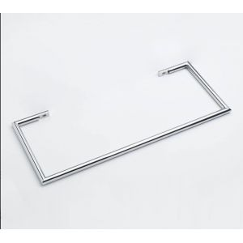 1 Barre Porte serviettes chromée 45 cm pour radiateurs Solaris