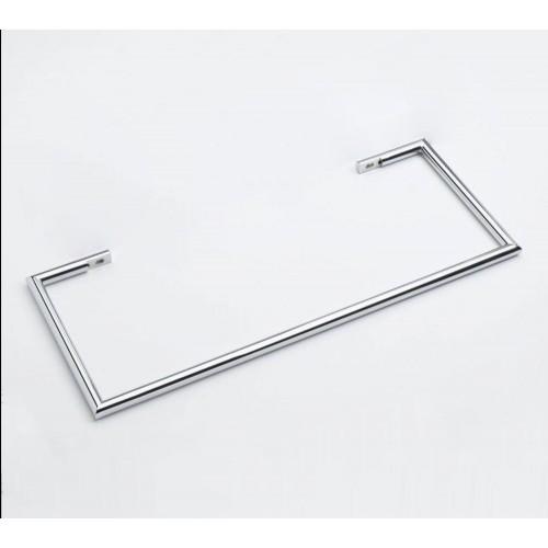 1 Barre Porte serviettes chromèe 63 cm pour radiateurs Solaris