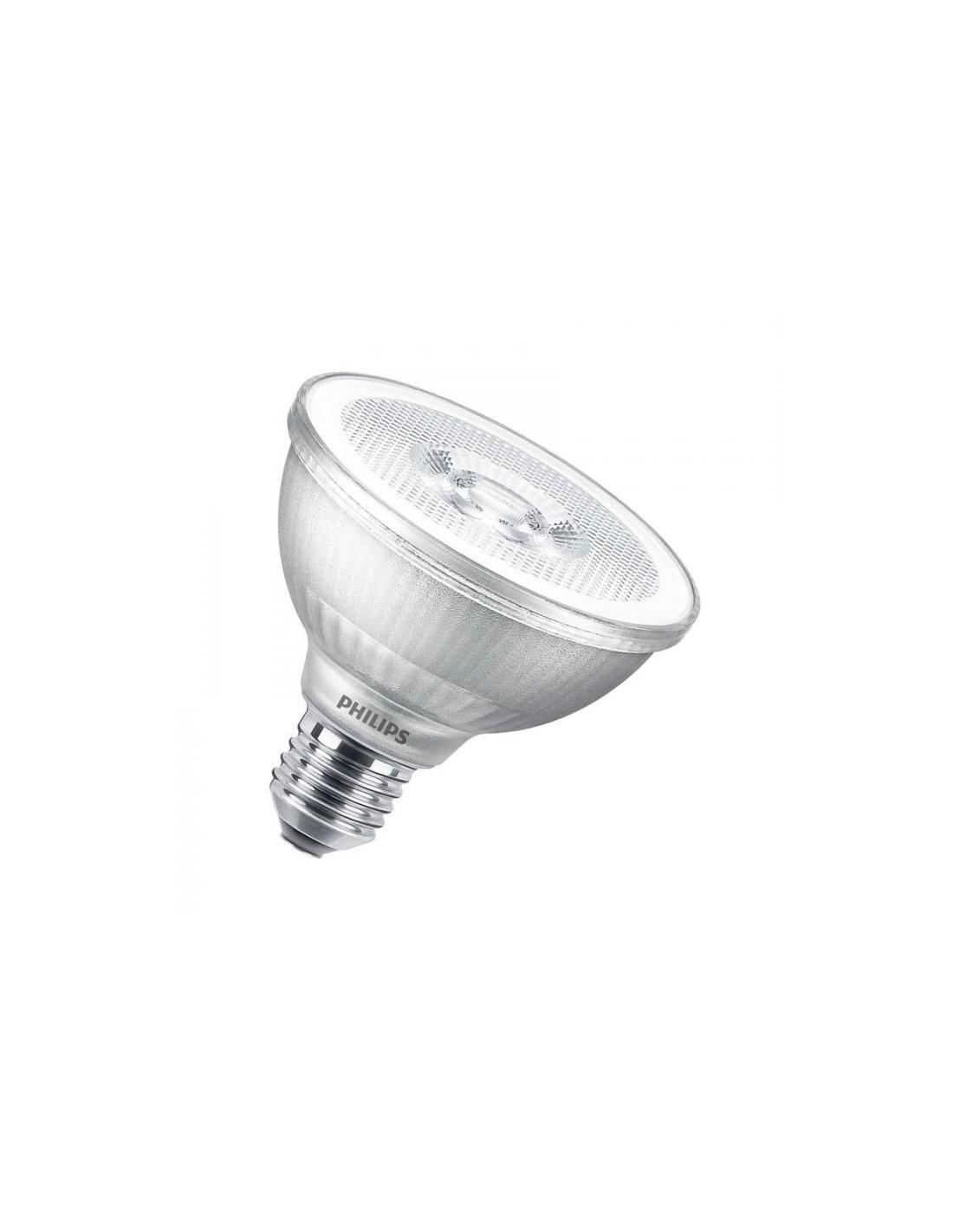 Ampoule E27 9.5W 2700K Blanc chaud PAR 30 LED Philips  - Valente Design