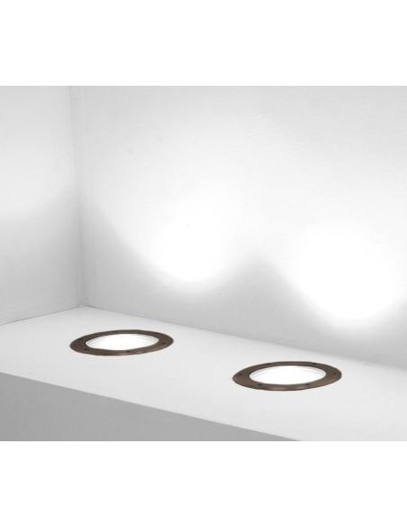 Spot Encastré Marell 22 Rond PAR 30 230V en finition browntech de Inverlight - Valente design