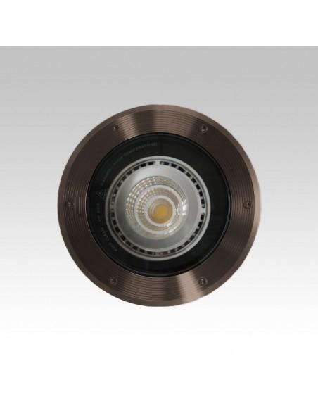 Spot Encastré Marell 22 Rond PAR 30 230V en finition bronze de Inverlight- Valente design