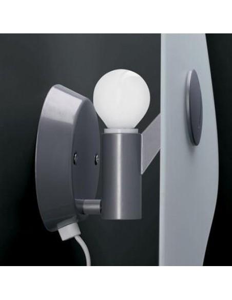Ampoule de l'applique murale bit 5 de Ferruccio Laviani pour la marque Foscarini chez Valente Design