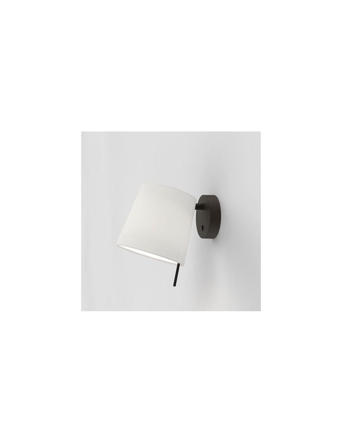 Applique Mitsu Wall bronze abat-jour blanc astro lighting- Valente design