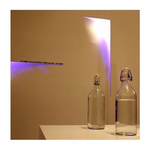 Encastré Mur / Plafond La Taglio Droite LED